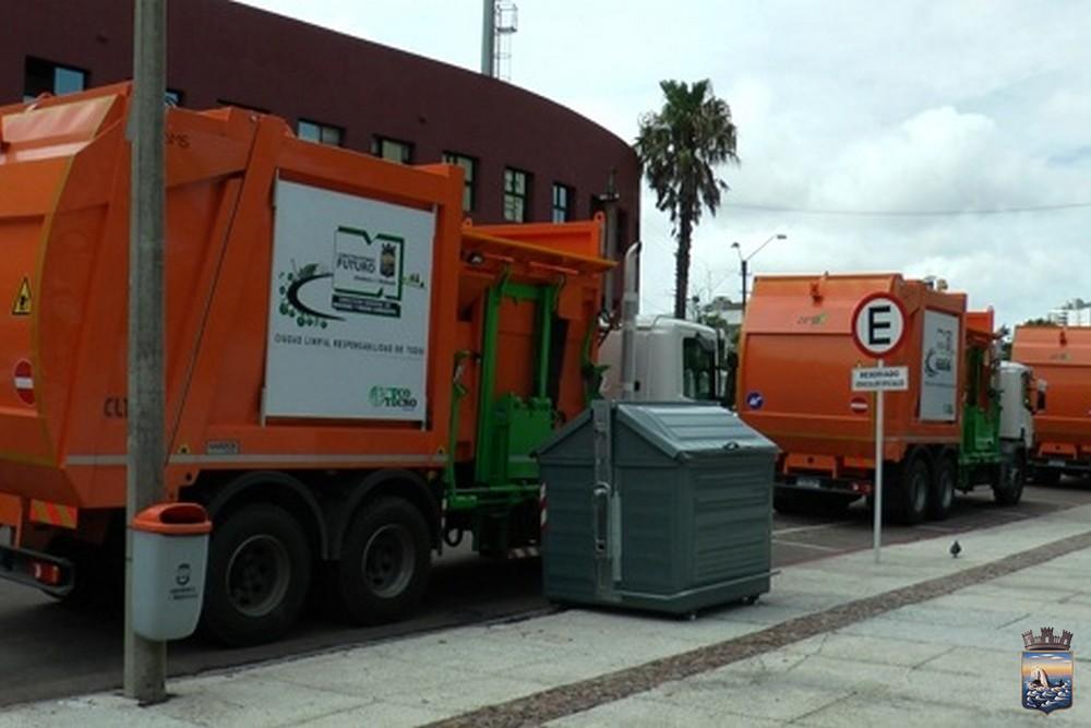 Maldonado a la vanguardia en limpieza y recolección de residuos.