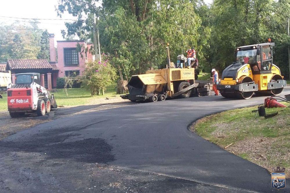 Administración invirtió 625 mil dólares para pavimentar calles del barrio El Golf